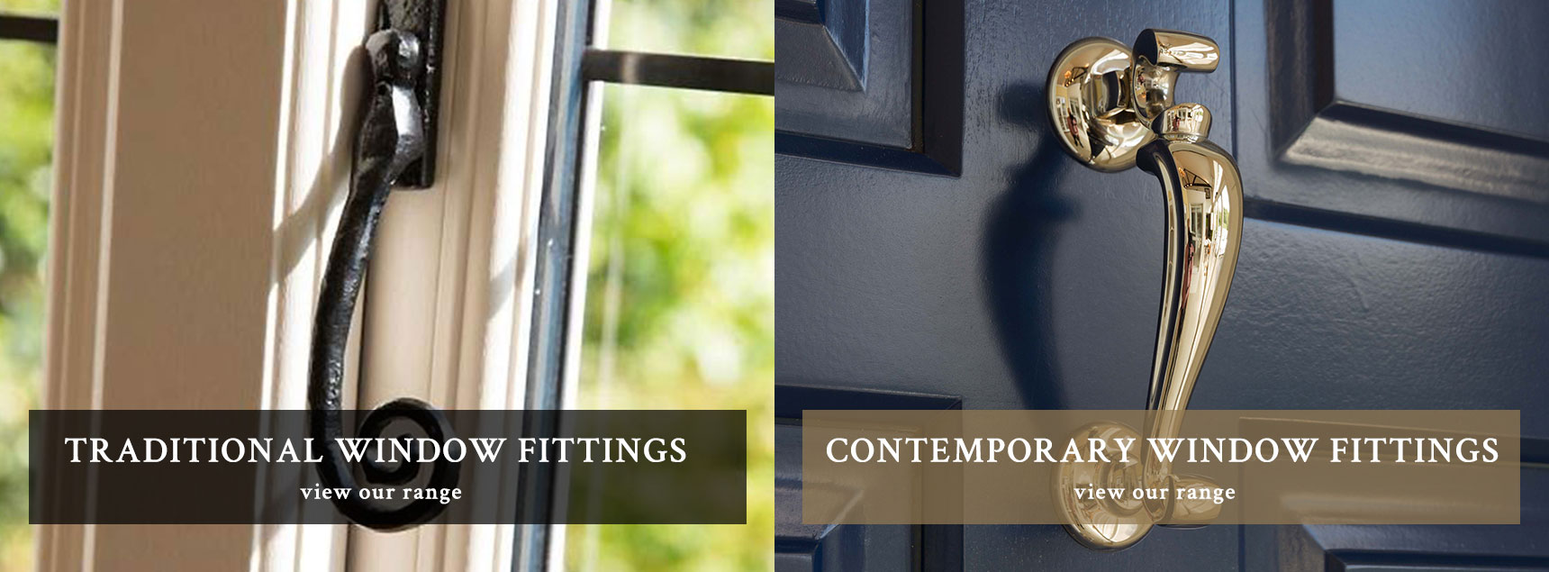 Traditional and Contemporary Window Fittings